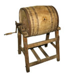 barrel milk churn