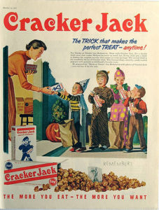 vintage Cracker Jack advertisement
