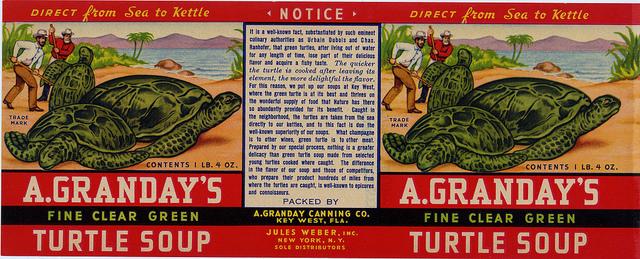 turtle soup label
