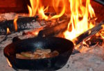 frying in cast iron skillet