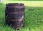 wooden barrel to make vinegar