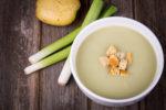plain white soup
